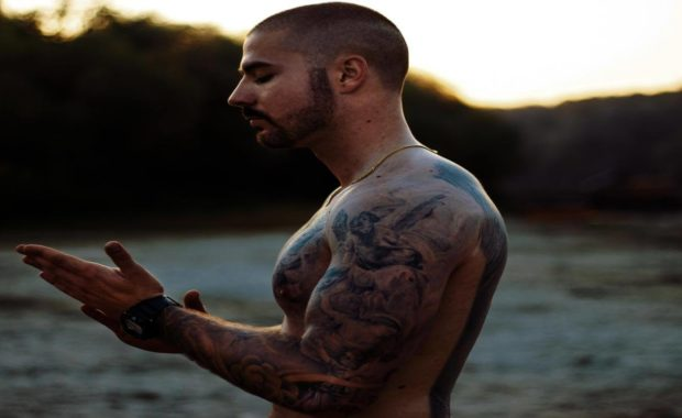 hot man with tattoo ideas for men