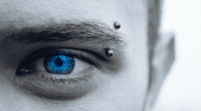 pierced eyebrow style for men