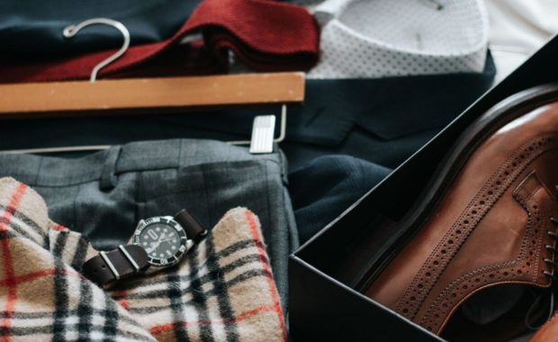 samples of clothing from after 5 attire for men